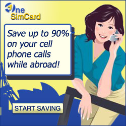 OneSimCard - save up to 90% on your cell phone calls while abroad