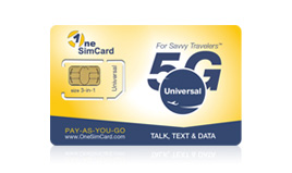 GSM international sim card
