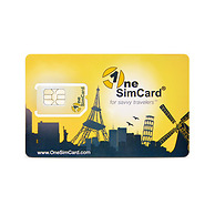 OneSimCard PLUS International SIM Card For Over 200 Countries - Includes Both A European & U.S. Phone Number