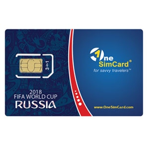 International SIM Card for 2018 FIFA World Cup in Russia