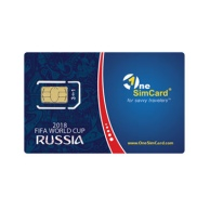 OneSimCard 2018 FIFA World Cup Russia SIM Card