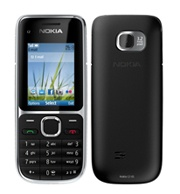 Nokia C2-01 International Cell Phone Rental - Works In All Countries Including Japan & S. Korea